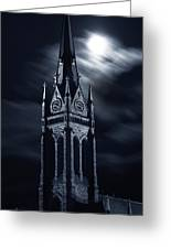 St Nicholas Church Wilkes Barre Pennsylvania Greeting Card by Arthur Miller