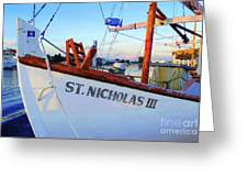 St. Nicholas IIi Greeting Card