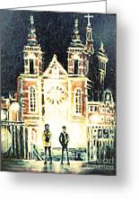 St Nicolaaskerk Church Greeting Card