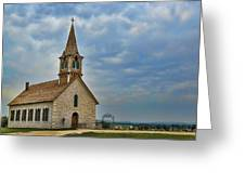 St Olafs Church Greeting Card
