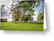 St Oswald's Church Heavenfield Greeting Card