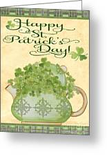 St. Patrick-jp3192-a Greeting Card