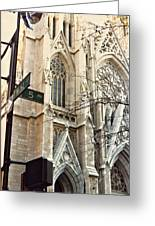 St. Patrick's Cathedral Greeting Card
