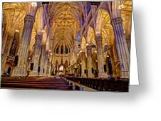 St Patrick's Cathedral Greeting Card