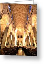 St. Patricks Cathedral Greeting Card