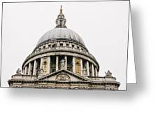 St Paul Cathedral Dome Greeting Card