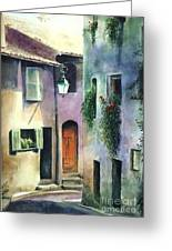 St. Paul De Vence Greeting Card