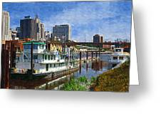 St Paul Tugboat Greeting Card