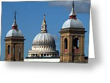 St Pauls An Alternate View Greeting Card