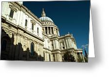 St Pauls Cathedral London 2 Greeting Card