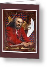 St. Peter - Lgptr Greeting Card