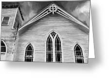 St Peter United Methodist Church-digital Art Greeting Card