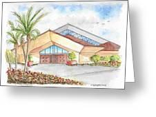 St. Peter's Catholic Church, Jupiter, Florida Greeting Card