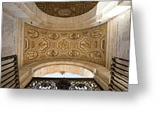 St Peter's Ceiling Detail Greeting Card
