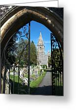 St Peters Marlow Greeting Card