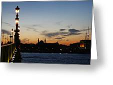 St. Petersburg Greeting Card