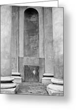 St. Philips Church Pillars II Greeting Card