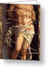 St Sebastian 1506 Greeting Card