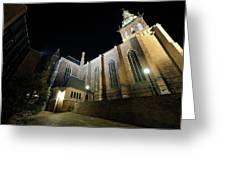 St. Steven's Church In Nijmegen Greeting Card