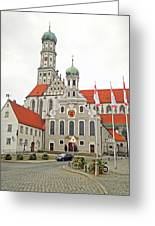 St. Ulrich's And St. Afra's Abbey Greeting Card