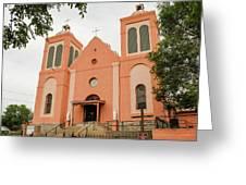 St Vincent De Paul Catholic Church Greeting Card