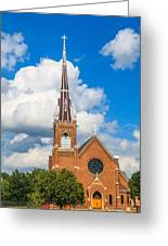 St Wenc On A Bright Summer Day Greeting Card