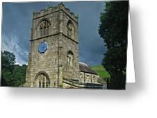 St Wilfrid Burnsall Greeting Card