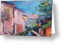 St Yrieux La Perche  Greeting Card