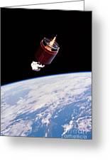 Stabilizing Spacecraft Greeting Card