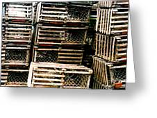 Stacked Traps Greeting Card