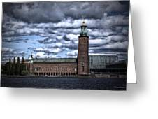 Stadshuset Color II Greeting Card