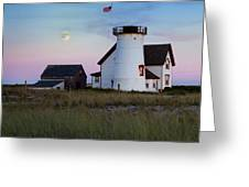 Stage Harbor Light Cape Cod Greeting Card