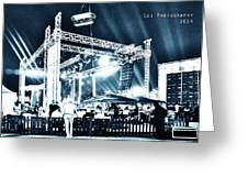 Stage Lights Greeting Card