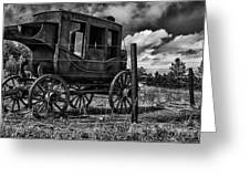 Stagecoach II Greeting Card