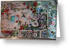 Stain Glass - Bath House - Hot Springs, Ar Greeting Card