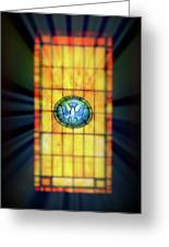 Stain Glass Greeting Card