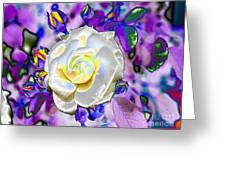 Stained Glass Beauty Greeting Card