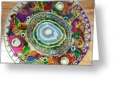 Stained Glass Table Top Greeting Card