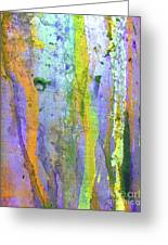 Stains Of Paint Greeting Card