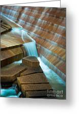 Staircase Fountain Greeting Card