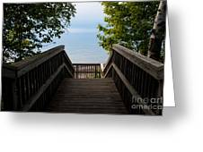 Staircase Of Tranquility Greeting Card