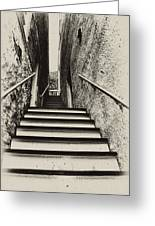Stairs At Harpers Ferry Greeting Card