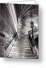 Stairs Of The Past Greeting Card