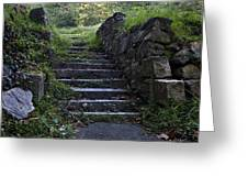 Stairs To . . .      Greeting Card by Murray Bloom