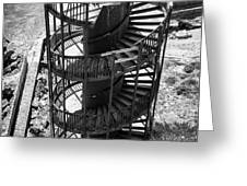 Stairs To Nowhere In Pismo Beach Greeting Card by Priya Ghose