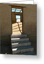 Stairs To The Sky Greeting Card