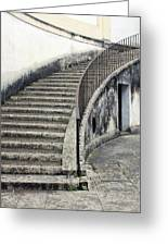 Stairs To Underground Greeting Card