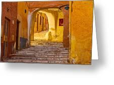 Stairway Inside Beni Isguen Greeting Card