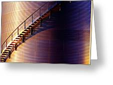 Stairway Abstraction Greeting Card