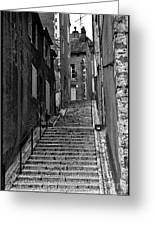 Stairway In France Greeting Card